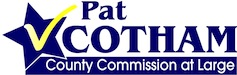Pat Cotham for County Commissioner